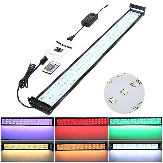 31 opinioni per Amzdeal Illuminazione Acquario RGB 72 LED montato sulla parte superiore