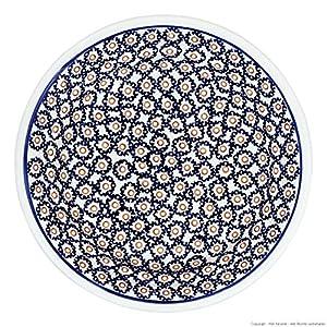 Bunzlauer keramik assiette creuse calotte/assiette creuse pour pâtes ø21.8 cm, h = 4,0 cm motif 4