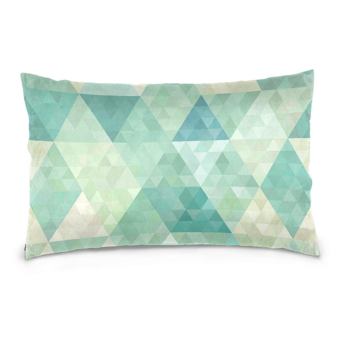 Amazon.com: Dragon Sword - Funda de almohada geométrica para ...