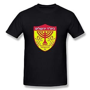 HM Men's T Shirts Beitar Jerusalem FC Size M Black