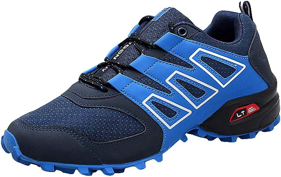 Zapatos de Senderismo para Hombres - Antideslizante Resistente Al ...