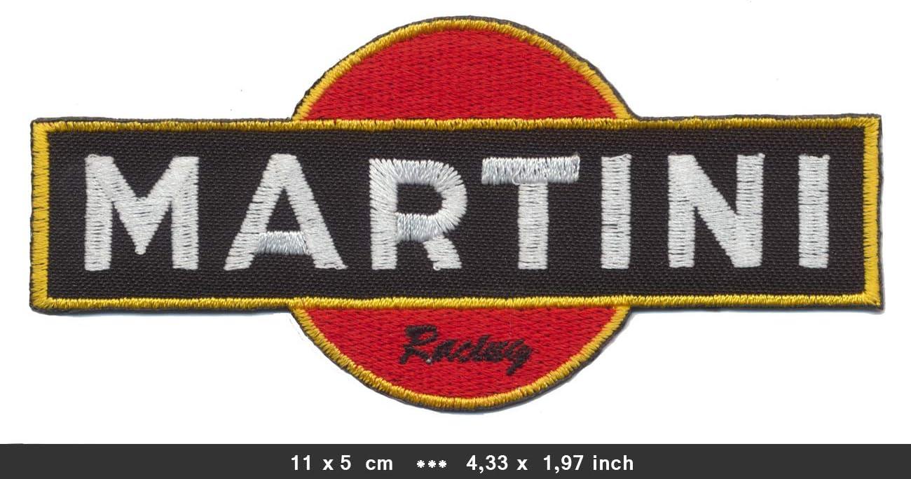 Martini Patch Aufn/äher B/ügelbild Vintage Motorsport Racing Team MRT01