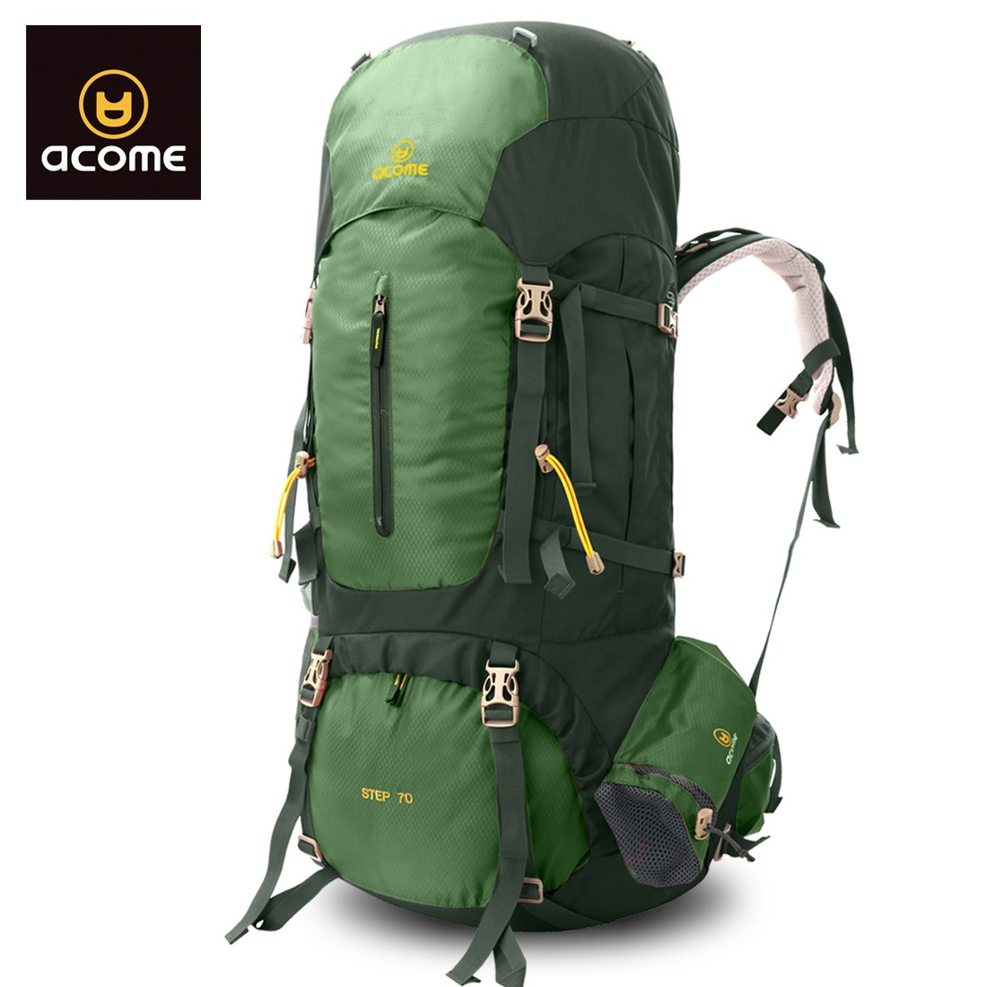 Großes! 70L! Professionelle Outdoor Bergwandern Gehen Schulter-Reisetasche Ist Dauerhaft Bequeme Sammlung