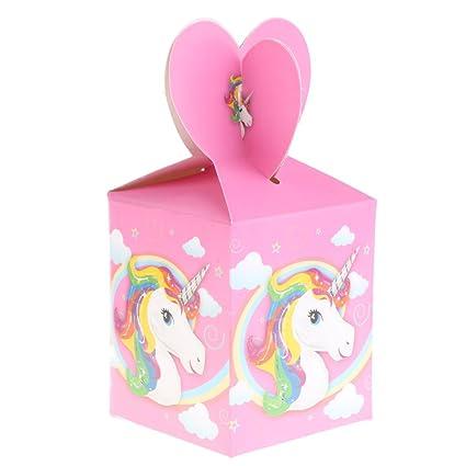 Gazechimp 6x Cajas de Dulces Perfecto para Cumpleaños Baby Shower Fiesta Infantil Ocasión Casa