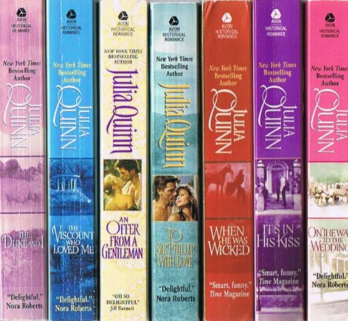 The Bridgerton Series, 7-Book Collection: The Duke and I; The Viscount Who  Loved Me; An Offer From a Gentleman; To Sir Phillip with Love; When He Was  Wicked; It's in His Kiss;
