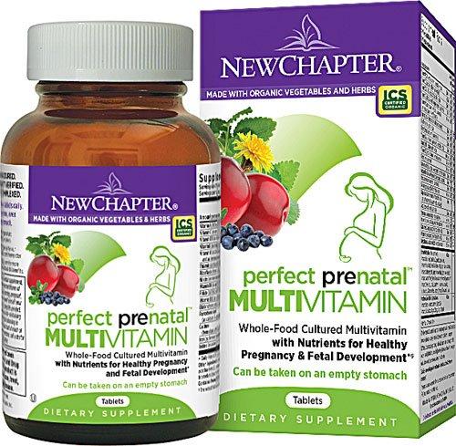 妊婦向け オーガニック マルチビタミン、ハーブ、ミネラルのサプリメント(約2ヶ月分) (海外直送品) B007A2M1BC