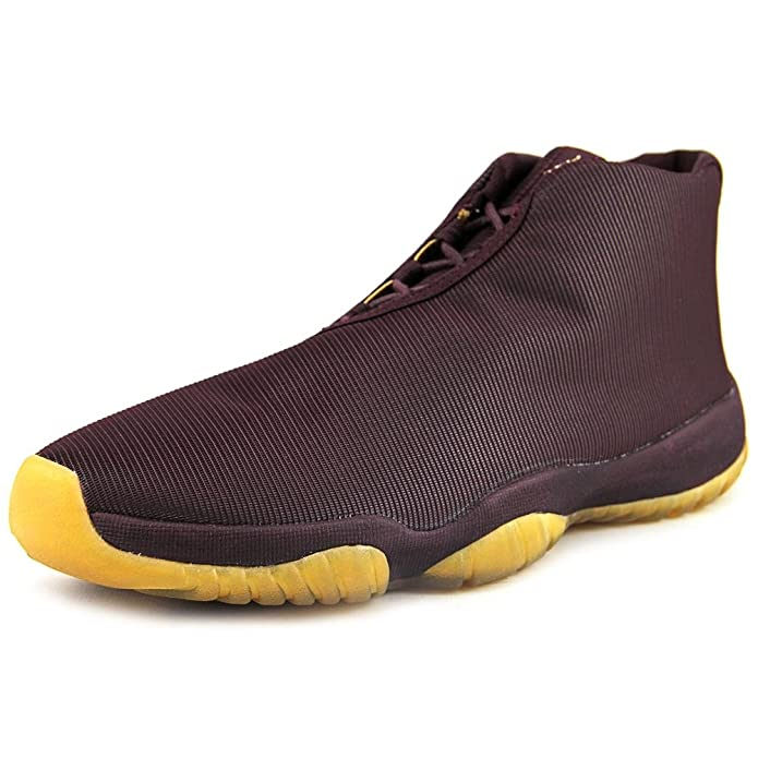 Amazon.com | Nike air Jordan Future Mens Trainers 656503 Sneakers Shoes (US 10, deep Burgundy Metallic Gold 670) | Fashion Sneakers
