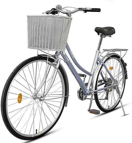 S.N S Bicicleta de Ciudad Velocidad Hombres y Mujeres Viajero ...