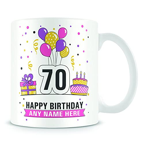 70th Birthday Mug For Women And Men