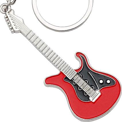 Keepdrum - Llavero de metal para guitarra eléctrica: Amazon.es ...