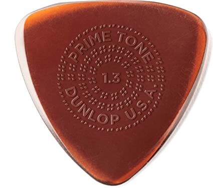 Dunlop Guitar Picks  3 Pack  Primetone Small Tri Hand Sculpted Smooth  1.3mm