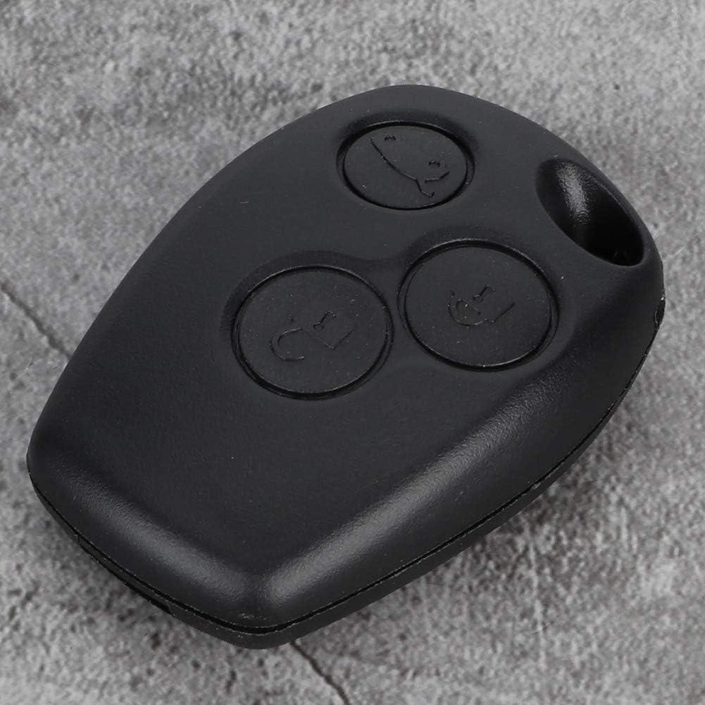 Key Shell Cover 3 botones Car Vehicle Remote Key Fob Shell Case para Logan Sandero Clio Fluence Vivaro Master Traffic