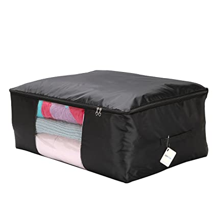 VEAMOR Clothes Storage ContainersBeddings/Blanket Organizer Storage BagsBreathable and Moistureproof (  sc 1 st  Amazon.com & Amazon.com: VEAMOR Clothes Storage ContainersBeddings/Blanket ...
