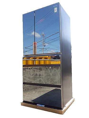 パナソニック665L6ドア冷蔵庫(オブシディアンミラー)PanasonicナノイーエコナビNR-F681WPV-X