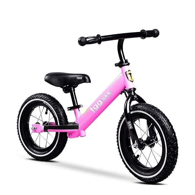 CXYGZLJ Coche de Equilibrio para niños, Bicicleta sin Pedal ...