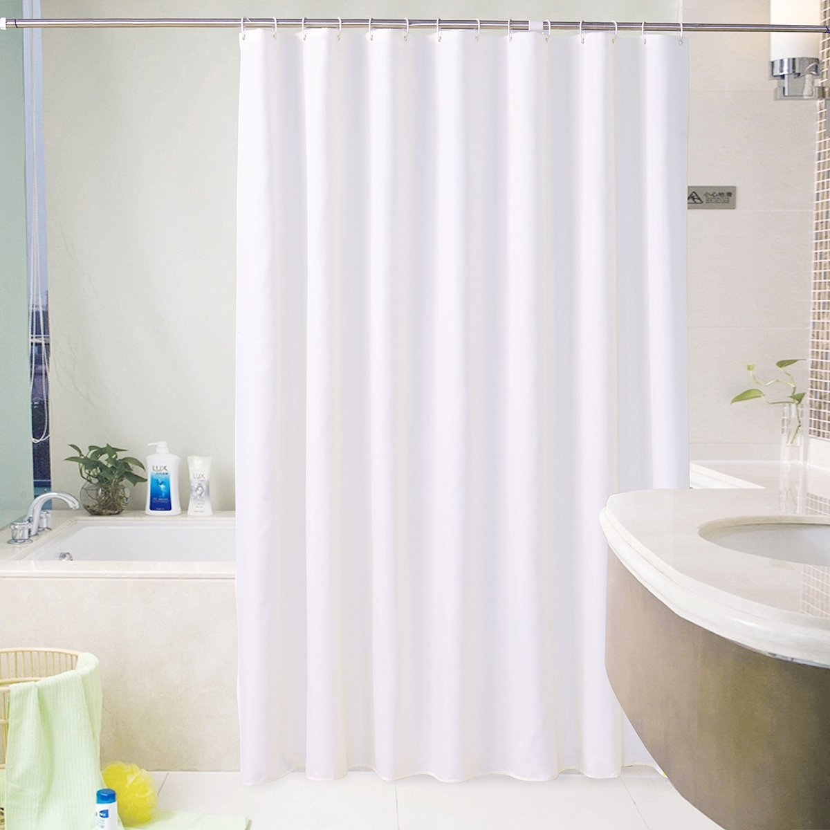 Amazon ENNAS Hotel Home Bathroom Shower Curtain Mold Mildew Resistant Machine Washable Kitchen