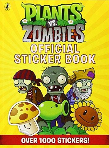 Plants Vs. Zombies Official Sticker [Paperback]