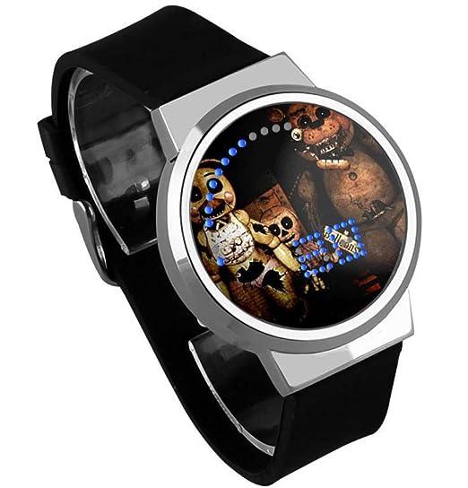 Relojes De Pulsera,Relojes Led Táctiles Relojes Impermeables De Dibujos Animados con Luz Nocturna Alrededor De La Animación A: Amazon.es: Relojes