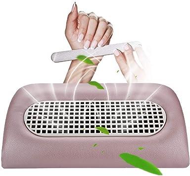 Aspirador de uñas, colector de polvo de uñas, compuesto por 3 ventiladores, succión para salones de