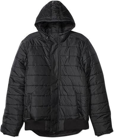LRG Osborne Hooded Puffy Jacket Black