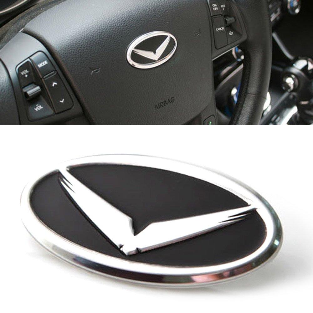 Eagle Emblem Steering Wheel Horn Cap 1Ea For Kia 2001-2015 Picanto/Morning(rear camera) Sold By Good Forum