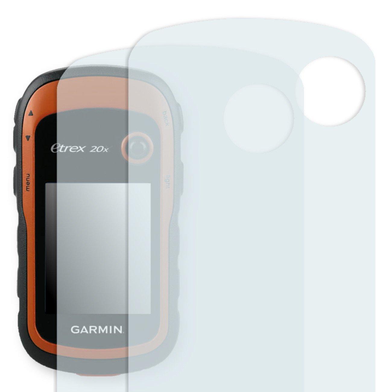 2X Golebo Anti-Glare Screen Protector for Garmin eTrex 20 (Anti-Reflex, Air Pocket Free Application, Easy to Remove)