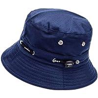 ZARRS Sombrero de Pescador,Sombrero de Cubo Algodón Transpirable