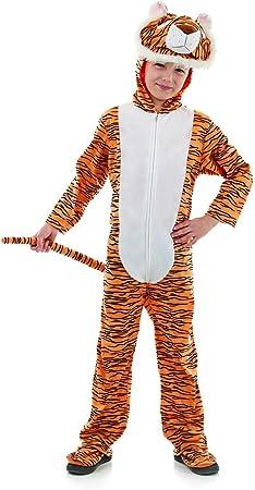Fun Shack Naranja Tigre Disfraz para Niños y Niñas - XL: Amazon.es ...
