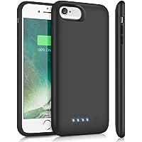 SWEYE Funda Batería para iPone 6/6s/7/8 6000mAh Funda Cargador Portátil [Versión Mejorada] Carcasa Batería para ipone 8…