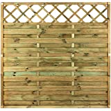 AVANTI TRENDSTORE - Pannello salva vista in legno di pino massiccio, autoclave, ca. 180x180 cm