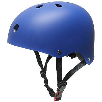 Casco Bicicleta Para Niños Infantil, SKL Tamaño Ajustable Casco Bici Niño 48-52cm Transpirable
