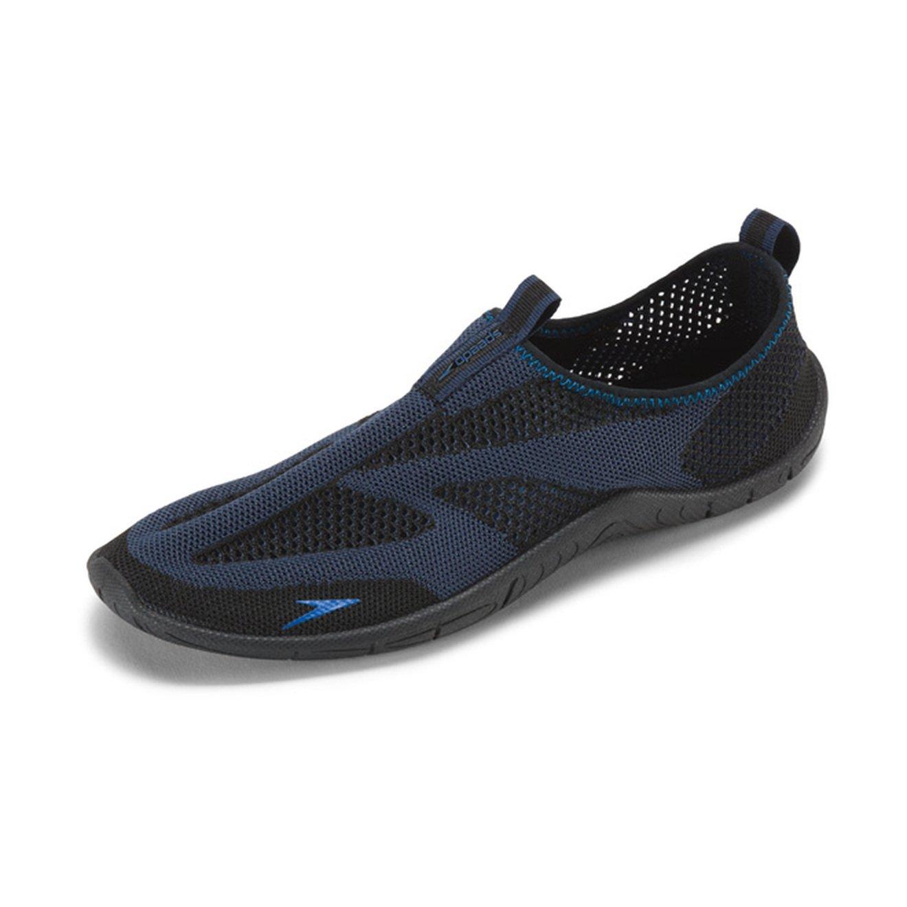 Speedo Men's Surf Knit Athletic Water Shoe, Navy/Blue, 11 C/D US by Speedo