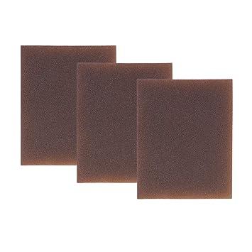 400-600 Grit MagiDeal 3 St/ück Schleifen Schleifblock Schwamm Bl/öcke Schleifpapier Grit Schleifpad Extra Fein
