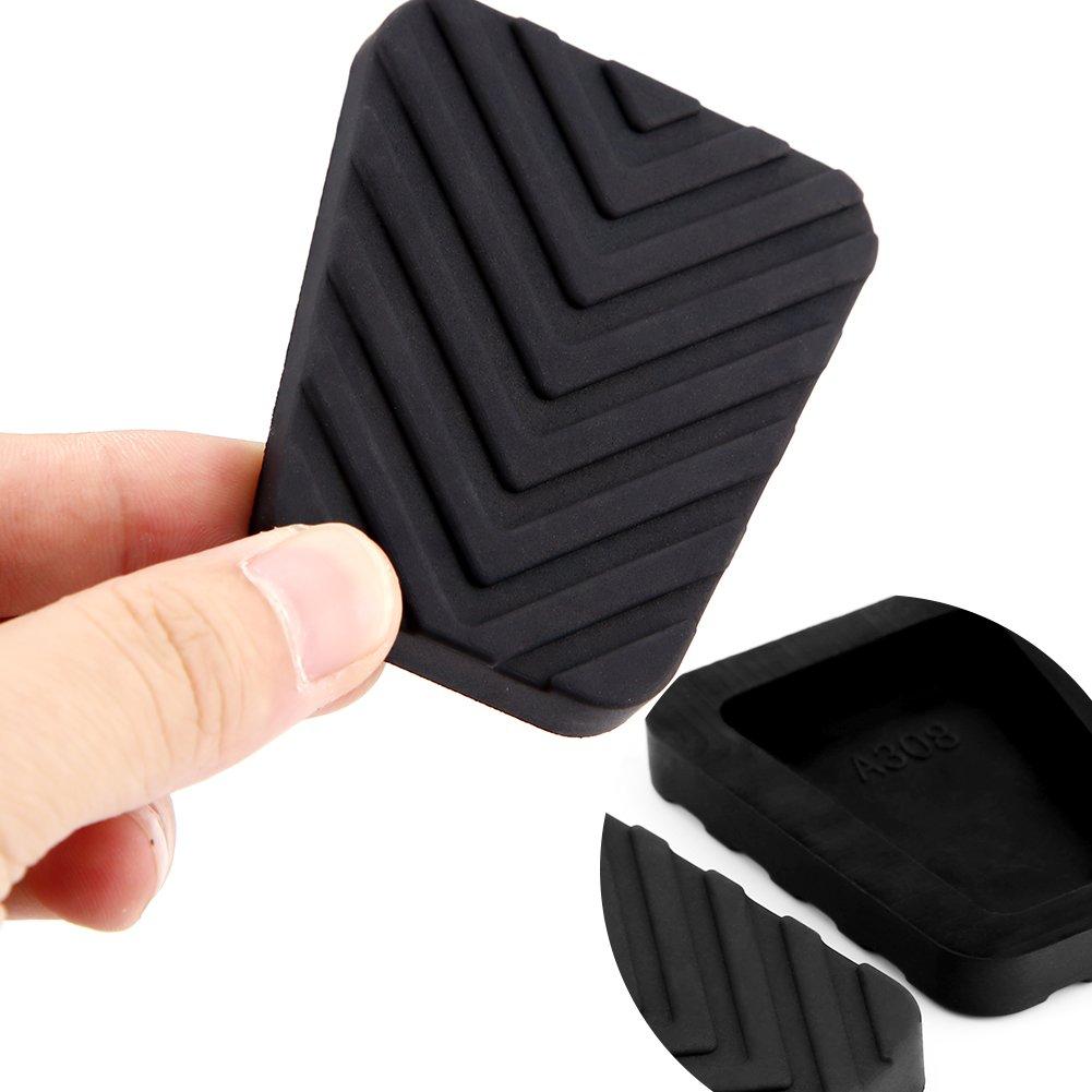 Qiilu Auto freno embrague Pedal revestimiento de goma