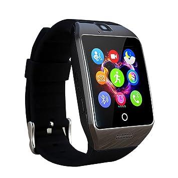 WOTUMEO Reloj Inteligente Bluetooth Reloj Teléfono con ...