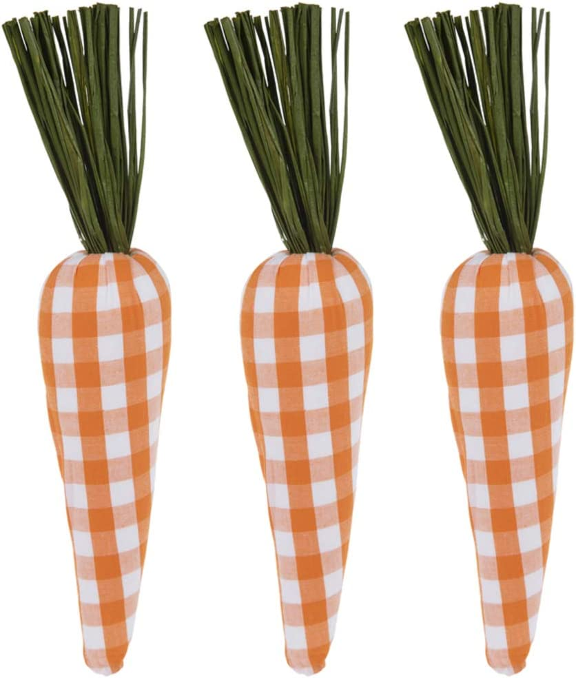 Orange Buffalo Check Carrots