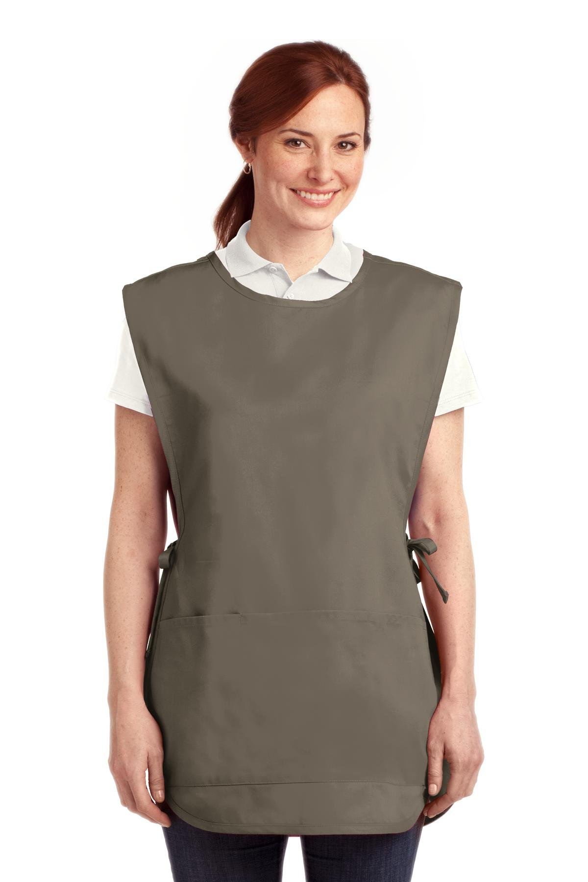 Port Authority novelty-and-special-use Easy Care Cobbler Apron with L/XL Khaki