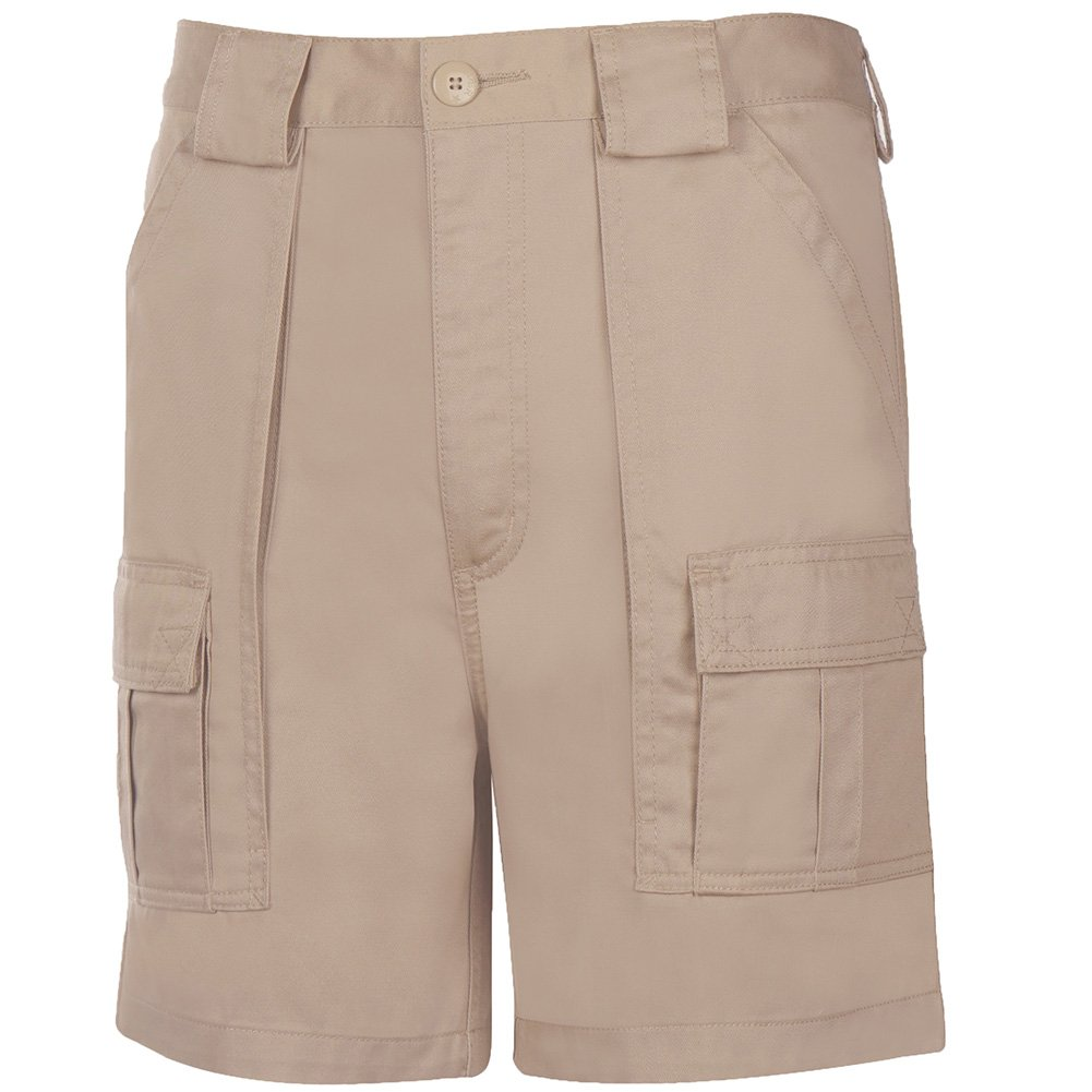 Weekender Men's 6 Pocket Trader Cargo Shorts Sand 54