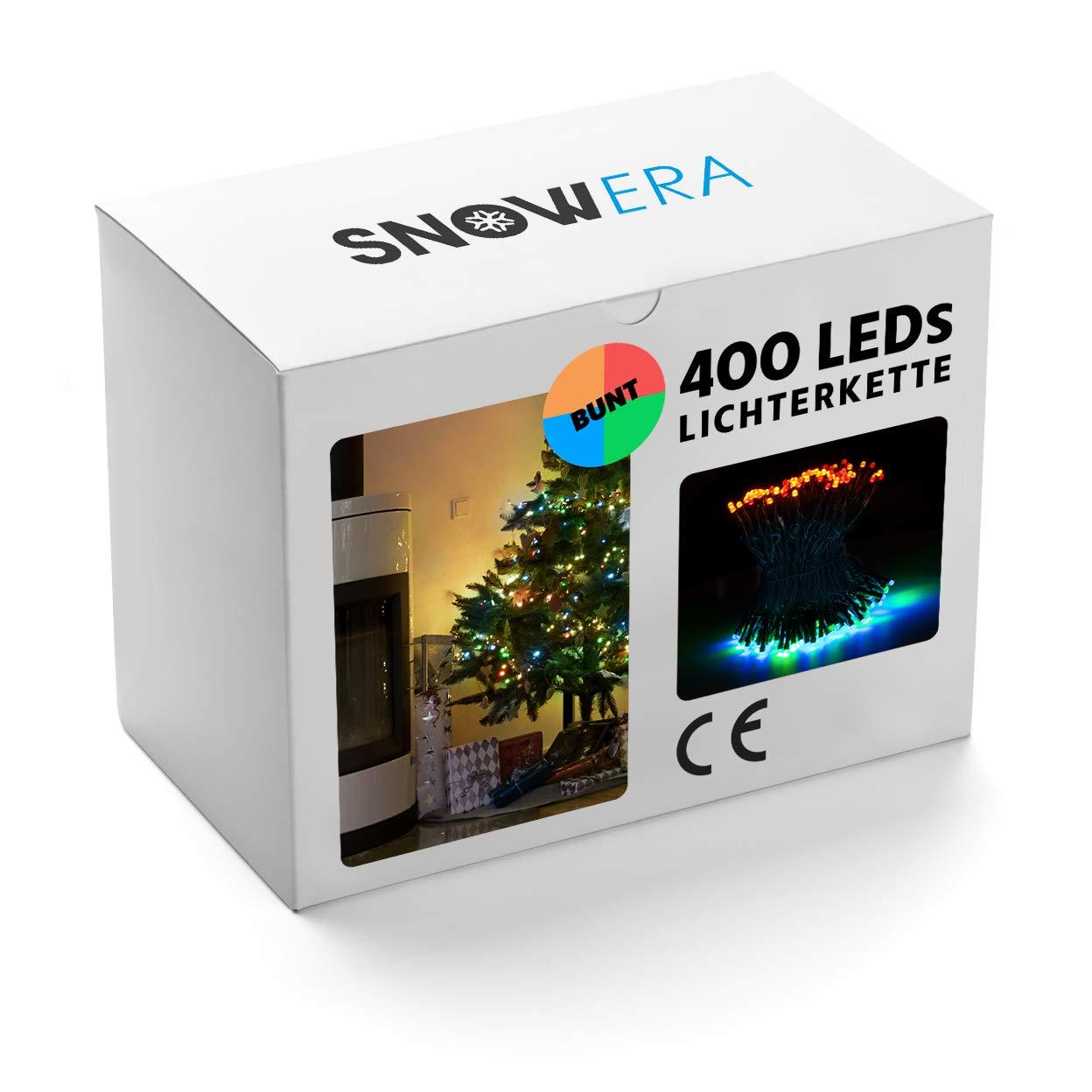 SnowEra 200 LED Auß enlichterkette, amber SN-6176