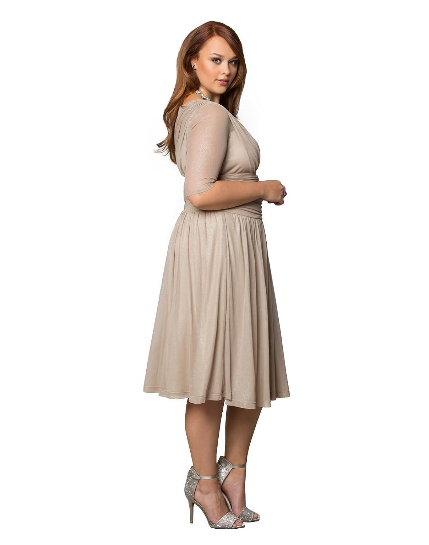 Khaki dress plus size women