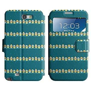 Be-Star Diseño Impreso Colorido Slim Casa Carcasa Funda Case PU Cuero - Stand Function para Samsung Galaxy Note 2 II / N7100 ( Tweety Bird )