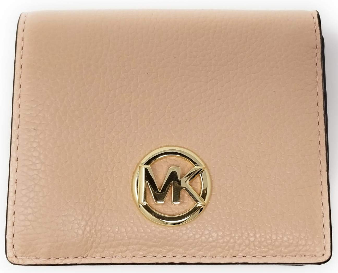 Michael Kors Fulton Carryall Card Case Small Wallet (Pastel Pink)