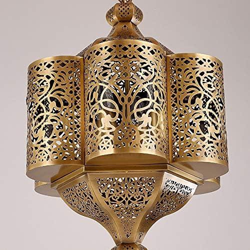 JohnnyLuLu Araña turca marroquí, Luces de Techo de Cobre