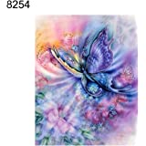 Sanwooden 5D Full Diamond Butterfly Frog Embroidery Painting Cross Stitch Kit Home Wall Decor