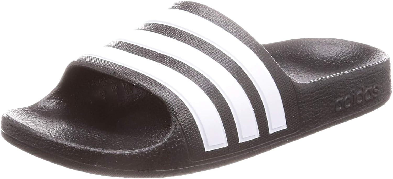 adidas adilette Aqua K White//Silver EVA Youth Flip Flops Sandals