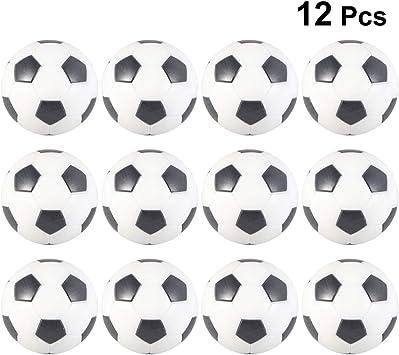 LIOOBO 12 Piezas futbolín futbolín Mini futbolín reemplazo de ...
