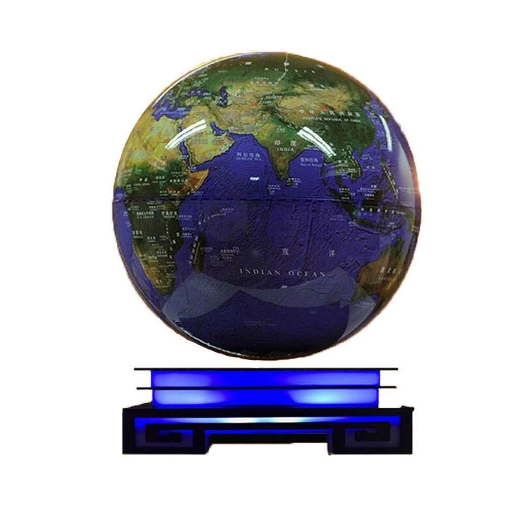 nuevo sádico Dark azul KOWU World Globe Globo de suspensión magnético magnético magnético Adornos de 8 Pulgadas rojoación Luminosa, Regalo de cumpleaños for niños Enviar Novias Creativas  el mejor servicio post-venta