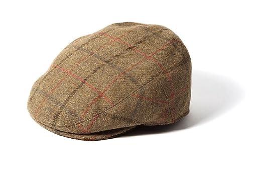 57949a881b1 Failsworth Mens Gamekeeper Tweed Flat Cap (Large - 59cm