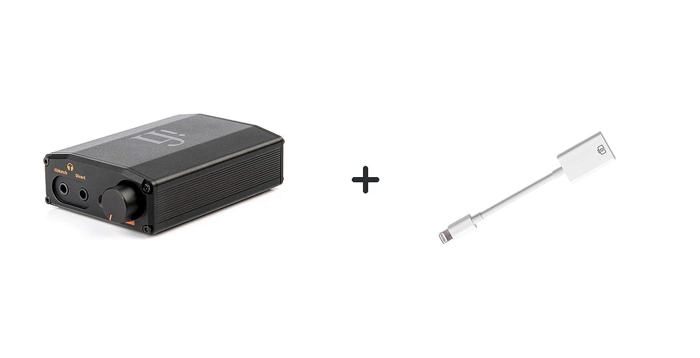 Nano iDSD Black Label Kombination tragbarer DAC und Kopfh/örer-Verst/ärker f/ür Smartphones DAPs Tablets und Laptops Apple Lightning zu USB Kamera Adapter