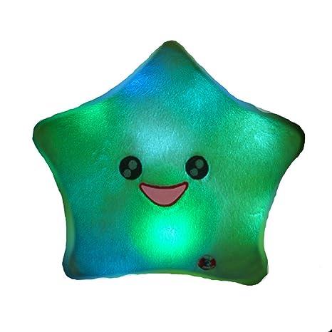 Amazon.com: Amico Sonrisa Diseño de estrella cambia de color ...